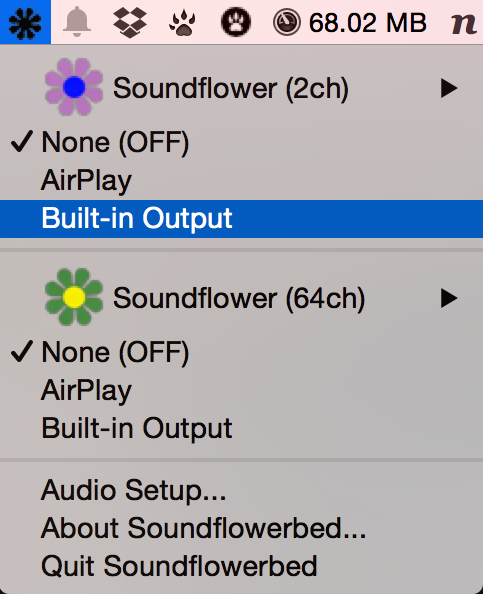 Soundflower Routing